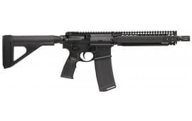 "Daniel Defense 02-088-01202 DDM4 MK18 AR15 Pistol w/ Brace, 5.56 NATO 10.3"" BBL 30RD Black"