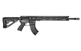 "Diamondback DB1565GEMLB DB15 Elite M-Lok 15"" Semi-Auto 18"" 28+1/5+1 Adaptive Tactical EX Performance Black Hardcoat Anodized/Black Melonite"
