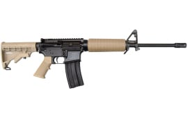 Del-Ton Sport Series AR-15 Carbine Rifle, .223 / 5.56 Semi-Auto with 2- 30 Rd Mags, Dark Earth Finish