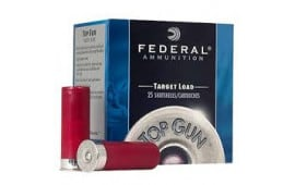 "Federal TG1477 Top Gun 12GA 2.75"" 1 1/8oz #7 Shot - 25sh Box"