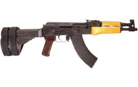AK-47 Draco Pistol w/Stabilizing Brace - 7.62x39, 2- 30rd Mags, HG1916-CN