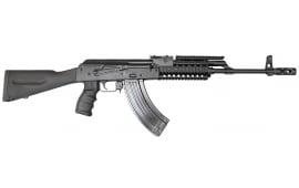 AK-47 Rifle 7.62x39 Semi-Auto, W / 1-30 Round Mag, Phoenix Stock and Premium Grip and Quad Rail Forearm, Model JRAK-AMD