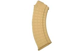 ProMag AK-47 7.62x39mm (30)Rd Tan Polymer Magazine - AK-A2