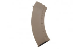 Tapco AK-47 Smooth Side Dark Earth 30 Round Magazine MAG0632 16654 Dark Earth