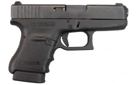 """Glock 36 .45 ACP SubCompact Slimline 3.78"""" w/ 2-6rd Mags And Rail - New"""