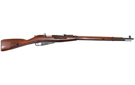 Russian M91/30 Mosin Nagant Rifle, Arsenal Refinished, Various Surplus Conditions - 7.62x54R Caliber - With Bayonet. Tula Manufacture