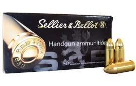 Sellier and Bellot 9mm 124 GR FMJ Ammo - SB9B - 1000rd Case