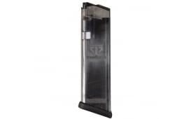 ETS Glock .40 s&w 16rd Mag - Fits 22, 23, 27, 35 - Clear Black - GLK-22