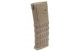 AR-15 Magazine 30 Round .223/5.56mm Polymer, Dark Earth w/ Window - Made in South Korea