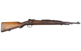 FN 1935 .308 Belgium Rifle, 5 Round Bolt Action, Wood Stock, Surplus Good Cracked Condition