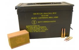 PMP 5.56x45mm 55 GR M193 Ball In Sealed Ammo Can AM2427 - 1000rd Can