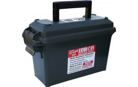 """MTM AC30T11 Ammo Can 30 Caliber 5""""x11.3""""x7.2"""" Poly Forest Green"""