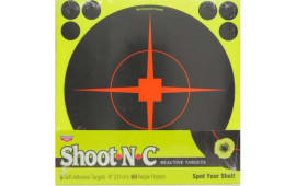 "Birchwood Casey 34814 SHOOT-N-C 8"" Reactive 5PK"