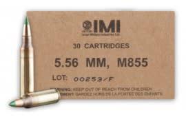 IMI 5.56x45 69gr Sierra HPBT OTM Match King Razor Core Ammo IMI69OTMC - 500rd Case