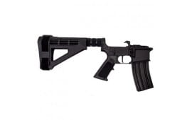 Franklin Armory 2039 BFSIII Equipped Straight Binary Trigger Complete AR Pistol Lower w/ SBM4 Brace