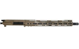 "Bear Creek Arsenal AR15 Complete Upper 16"" 1:9 .223 Wylde Flat Dark Earth Cerakote with M-LOK Rail"