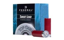"""Federal 12 Gauge 2-3/4"""" Target Load Ammo - 250rd Case"""