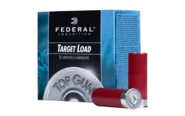 "Federal 12GA 2-3/4"" Target Load Ammo - 250rd Case"