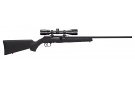 Savage Arms A17XP 17HMR Rifle, 22in Barrel Barrel Combo Black Bushnell Scope 10rd - SAV 47011