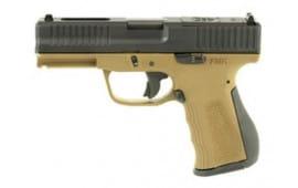 "FMK Firearms FMKG9C1EPROBRT Elite PRO 4"" 14rd"