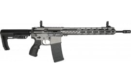 "Fostech Phantom Deluxe Edition Semi-Automatic AR-15 Rifle 16"" Barrel .223/5.56 30rd - W/ ECHO-II Trigger - Tungsten Cerakote Finish - 6307-TUN-5.56-6226-4150"