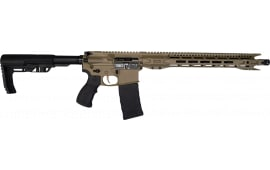 Fostech Fighter Lite FDE 5.56 AR15 Rifle with Echo Trigger - Flat Dark Earth Cerakote Finish