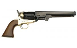1851 Black Powder Navy Revolver .44 Cal Brass, Blued, With Full Kit - by Traditions - FRS18511 - Black Powder - No FFL Required.