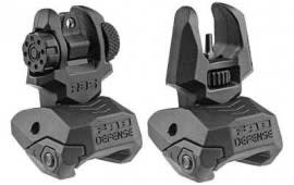 FAB FX-FRBSKIT FRT/REAR Flipup Sights Black