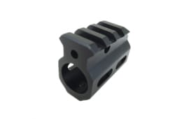 AR-15 Picatinny-Style Single Rail Gas Block .750 Dia. w/ Top Rail, Roll Pins & Wrench - GB03