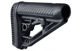 Adaptive Tactical Performance Stock For AR Pattern Rifles Black - AT02012
