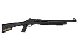"SDS Imports P3 Pump-Action Tactical Shotgun 18.5"" Barrel 12GA 5rd - W/ Pistol Grip Stock & Combat Sights - SDS-P3"