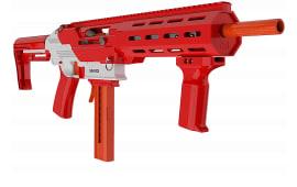 GameFace Prime Blaster By Crosman - Pump Action Foam Dart Gun - Spring Powered - 130 FPS - 15 Round Capacity - Red - Rated 16 Years Plus - GFJBR