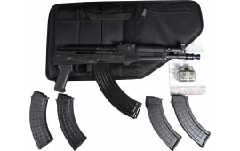 Polish Hellpup AK-47 Pistol 7.62x39 W /Free Shooters Package Featuring 4-30 Rd Mags, 1-40 Rd Mag and Tactical Case- Limited Time Offer