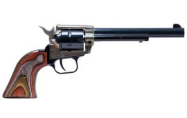 Heritage Rough Rider Revolver - 22LR with Color Case Hardened Frame & Laminated Grips