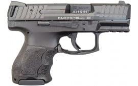 """Heckler & Koch VP9SK Sub Compact 10 Rd 9mm 3.4"""" Barrel- 700000K-A5"""