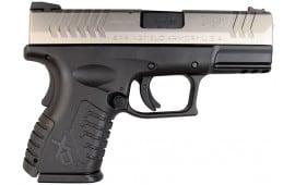 "Springfield XDM 9mm Two-Tone Compact 3.8"" 19 Rd - XDM9389CSHCE"