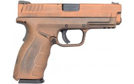 """Springfield XD MOD.2 4"""" Service Model 9mm, Spartan Copperclad Finish, 2-16 Rd Mags"""