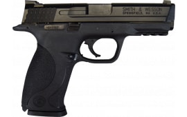 "Smith & Wesson M&P 9 Pistol 309201, 9mm, 4 1/2"", 3 Dot Sight, Black Finish, 17+1 - Factory New w/ 3-17 Round Mags"