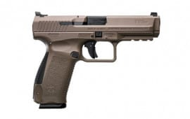 Canik TP9SF Desert Tan 9mm Pistol w/ Warren Tactical Sights and (2)18 Rd Mags - HG4070-N