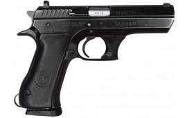 "IMI Jericho 941F 9mm Semi-Auto Pistol 4.5"" BBL, Blued Finish. S/A, 15 Rd - G/VG Surplus Condition - Police Star Markings"