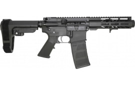 "Andro Corp Industries ACI-15 Semi-Automatic Pistol 6"" Barrel 300 Blackout 30 Round - W/ Micro Flash Can & SB Tactical SBA3 Brace - 3006MFC"