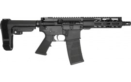 "Andro Corp Industries ACI-15 Semi-Automatic Pistol 7.5"" Barrel .223/5.56 30 Round -W/ SB Tactical SBA3 Brace - 55675CB"