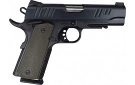 """Alpha Foxtrot AF1911CT9 1911 Commander 9mm 4.25"""" Pistol"""