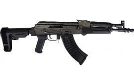 Polish Hellpup AK-47 Pistol 7.62x39 W/ Collapsible Pistol Brace