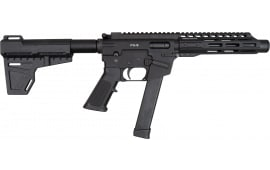 "Freedom Ordnance FX-9 8"" AR 15 Pistol w/ 33rd Mag, Shockwave Blade Pistol Brace - With Special Shooters Package - Limited Time Only"