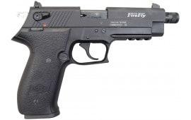 "ATI GSG Firefly Pistol .22LR - 4.9"", Black, 10rd Capacity, Threaded Barrel - GERF2210TFF"
