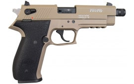 "ATI GSG Firefly Pistol .22LR - 4.9"", Tan, 10 Round Capacity, Threaded Barrel - GERF2210TFFT"