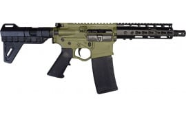 "ATI Omni Hybrid MAXX AR15 Pistol, 5.56/.223 7.5"" Barrel, 7"" Keymod, Battlefield Green - ATIGOMX556P4BBFG"