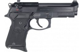 "Beretta 92FS Compact Semi-Automatic Pistol 9mm (3) 13rd 4.25"" Barrel W/ Trijicon Night Sights and Rail - LE Edition - J90C9F14"