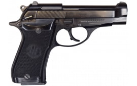"Beretta 85BB Pistol Used, Semi-Auto, 380 ACP 3.81"" Barrel, 8 Round - Surplus Good / Very Good Condition"